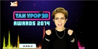 Gil Lê tiết lộ biểu diễn tại lễ trao giải YAN Vpop 20