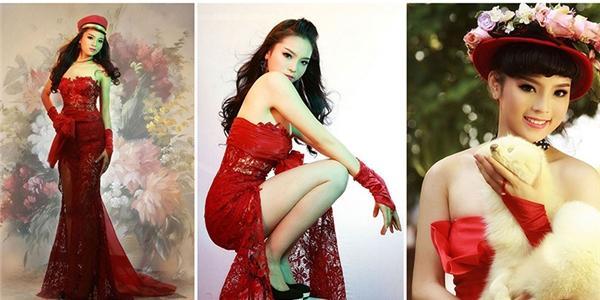 Bộ ảnh Hoa hậu Kỳ Duyên tạo dáng  bá đạo  trước khi đăng quang