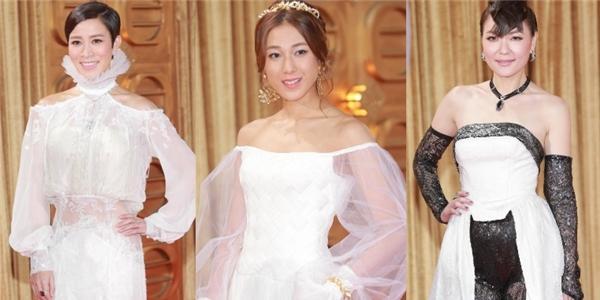 Dàn hoa đán TVB bị chê là thảm họa thảm đỏ 2014