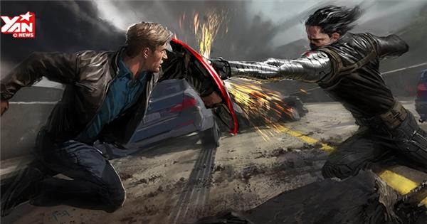 Bí mật bất ngờ đằng sau những cảnh quay hoành tráng của Captain America