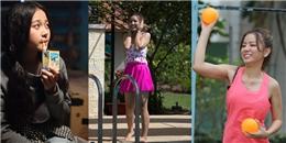 Tạo hình 'khó đỡ' của hotgirl '14 ngày đấu trí' trong sitcom mới
