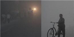 Sương mù bao phủ, miền Tây lạnh như... Đà Lạt