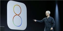 Apple bị kiện tập thể vì iOS 8 chiếm nhiều dung lượng