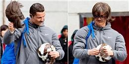 Ronaldo làm 'cái bang' xuống phố