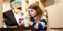Bé gái 7 tuổi hack WiFi công cộng trong vòng... 11 phút