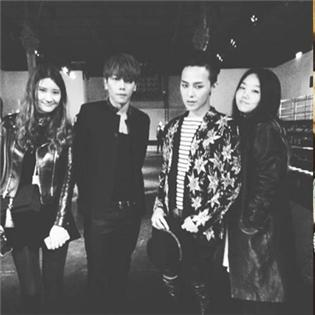 G-Dragon hội ngộ Park Hyo Shin, Jackson hạnh phúc về thăm gia đình
