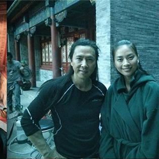 Ngô Thanh Vân bất ngờ khoe ảnh hậu trường đóng phim bom tấn cùng sao Hollywood