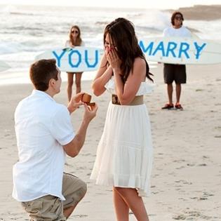 7 cách cầu hôn giúp bạn  hạ gục  đối phương