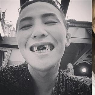 G-Dragon bất  ngờ khoe hình độc, Park Shin Hye thích thú với món kem cá