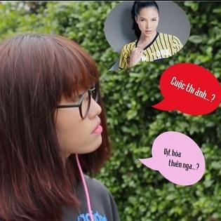 Lương Minh Trang hoá thân cô gái xấu xí
