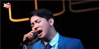 Hoài Lâm lay động khán giả khi hát live  Làm cha