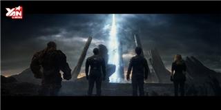 Choáng ngợp trailer về nhóm siêu nhân Fantastic Four