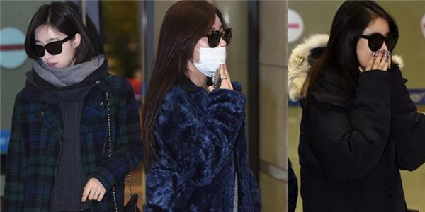 T-ara mệt mỏi quay về Hàn sau khi kết thúc minishow tại Việt Nam