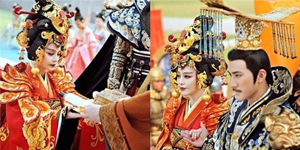 Choáng vì độ hoành tráng khi lên ngôi  Hoàng hậu  của Phạm Băng Băng