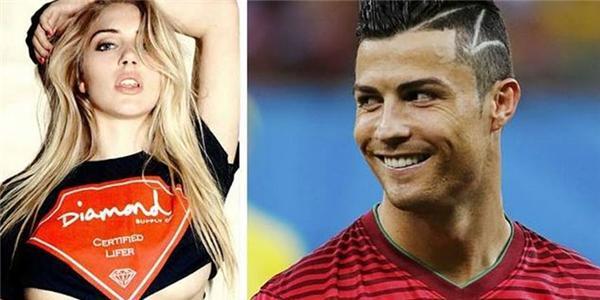 """Lộ diện thêm người đẹp tình nguyện """"xin được yêu"""" Ronaldo"""