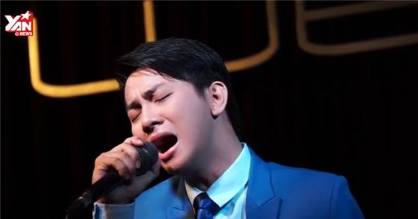 Hoài Lâm lay động khán giả khi hát live 'Làm cha'