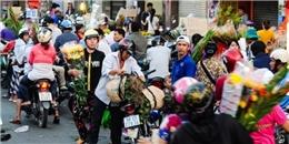 [Tết 2015] Chợ hoa lớn nhất Sài Gòn đặc nghẹt người ngày cuối năm