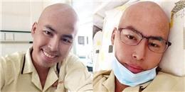 Duy Nhân xuất hiện tươi tắn, khác lạ ngay trong đợt hóa trị