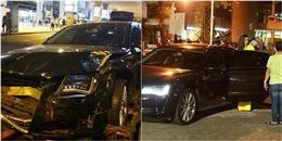 Xe hơi của nữ ca sĩ nổi tiếng tông hàng chục người tại sân bay Tân Sơn Nhất