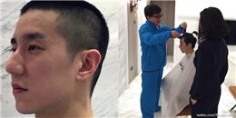 Quý tử Thành Long bị cha cạo đầu sau khi ra tù