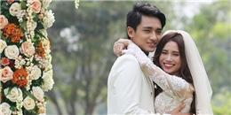 Sĩ Thanh bất ngờ công bố hình cưới bên cạnh Á Vương Hữu Vi