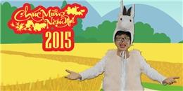 [Tết 2015] Thái Duy giả... dê chúc Tết cực hài hước