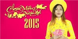 [Tết 2015] Ngọc Mint (SchoolTV) diện áo dài ngại ngùng chúc Tết