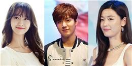 Lộ bảng giá cát-xê 'chục tỷ' của Lee Min Ho, Yoona, Jun Ji Hyun