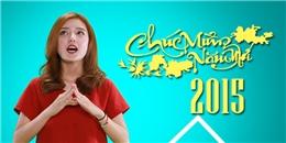 [Tết 2015] Nghe 'bản sao của hoa hậu Kỳ Duyên' chúc tết