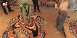 Tác phẩm nghệ thuật được thực hiện 'đơn giản như đang giỡn'