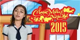 [Tết 2015] Ngọc Mint (SchoolTV) 'làm lố' trong trang phục học sinh