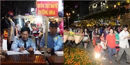[Tết 2015] An ninh đường hoa Sài Gòn được thắt chặt ngăn ngừa cướp giật