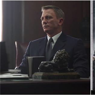 Điệp viên 007 hé lộ thêm loạt ảnh hậu trường