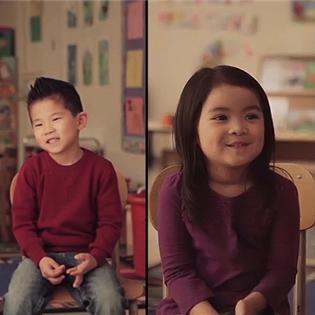 Hài hước với định nghĩa của trẻ em về tình yêu