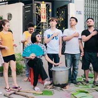 Hài hước với clip  Tết trong gia đình người Việt