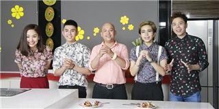 [Tết 2015] Gil Lê, Will, Miu Lê và Trịnh Thăng Bình tụ hội tại Bếp Chiến