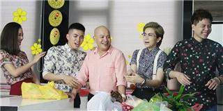 [Tết 2015] Lần đầu tiên tại Bếp chiến, Alan Nghĩa bị bắt phải đi chợ