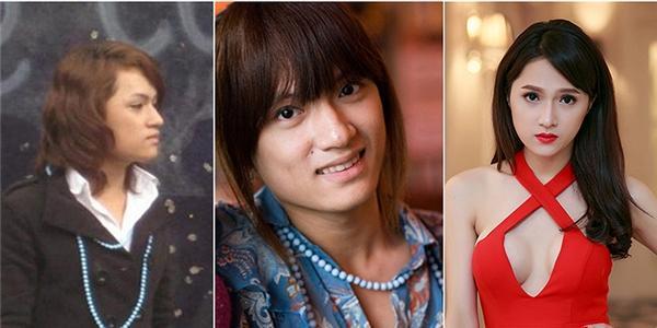 Kinh ngạc với loạt ảnh trước – sau chuyển giới của sao Việt