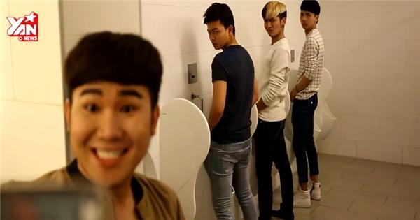 Chết cười với những tình huống 'khó thở' trong nhà vệ sinh