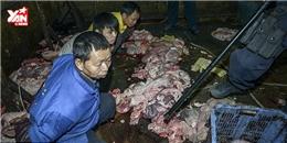 Kinh hoàng cách chế biến đồ ăn vặt siêu bẩn cho trẻ em ở Trung Quốc