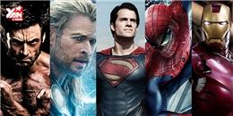 Siêu anh hùng nào mạnh nhất màn ảnh rộng?