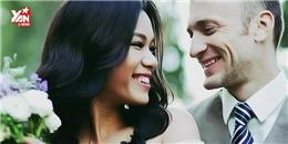 Phương Vy hạnh phúc song ca cùng chồng Tây trong đám cưới