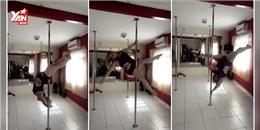Màn múa cột 'bá đạo' của cô gái mũm mĩm