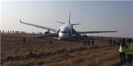 Máy bay Thổ Nhĩ Kỳ gặp nạn, trượt dài khỏi đường băng
