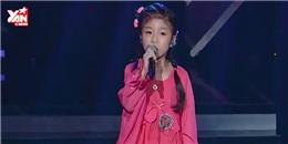 Kinh ngạc với bé gái 5 tuổi có giọng hát thiên thần