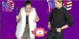 Gil Lê – Chi Pu thoải mái cùng nhau vui chơi tại trung tâm thương mại