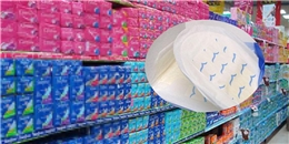 """""""Kinh hãi"""" băng vệ sinh có nồng độ chất phóng xạ từ Trung Quốc"""