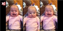 Bé gái 6 tháng tuổi ngừng khóc nghe Taylor Swift hát