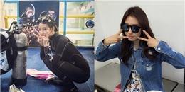Hyomin háo hức đi học lặn, Park Shin Hye thích thú lên đường sang Nhật