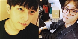 L bất ngờ khoe ảnh cực đẹp trai, Chanyeol chẻ mái bổ luống khiến fan thích thú